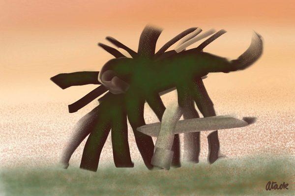 Spiderphant web
